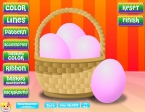 Design d'œufs de Pâques Image 1