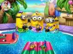 Les Minions dans la piscine Image 4