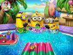 Les Minions dans la piscine Image 5