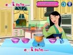 Mulan prépare de la soupe aux nouilles Image 1