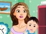 Jouer gratuitement à Nettoyer la chambre du bébé de Rapunzel