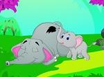 Jouer gratuitement à Réveiller Maman Éléphant
