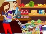 Jeu 10 Différences dans le supermarché