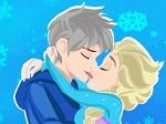 Jouer gratuitement à Elsa et Jack s'embrassent
