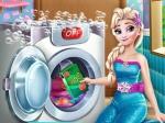 Jouer gratuitement à La lessive d'Elsa