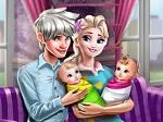 Jouer gratuitement à La Princesse Elsa et ses jumeaux