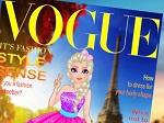 Jouer gratuitement à Elsa en couverture d'un magazine