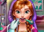 Jeu Princesse Anna chez le Dentiste