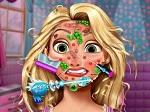 Jeu Rapunzel chez le dermatologue