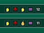 Jouer gratuitement à Équation avec des fruits