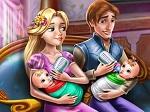 Jeu Une journée avec les jumeaux de Rapunzel