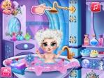 Jeu Elsa : bain mousse