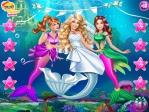 Jouer gratuitement à Poupée sirène de mariage