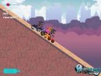 Jeu Up Hill Motocross Race