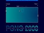 Jouer gratuitement à Pong 2000