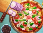 Jouer gratuitement à Cuisiner une vraie pizza