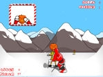 Jeu Snowboard Santa
