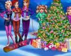 Jouer gratuitement à L'arbre de Noël des princesses