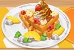 Jouer gratuitement à Yummy Waffle Ice Cream