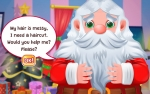 Jouer gratuitement à Santa Haircut