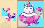 Jeu Cute Rainbow Unicorn Puzzles