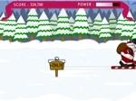 Jeu Santa Ski Jump