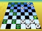 Jeu Checkers Board