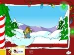 Jeu Bataille de neige à Springfield Les Simpson