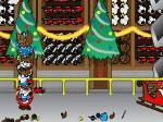 Jouer gratuitement à Santa attrape Noël au vol