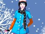 Jouer gratuitement à Habille la jeune de l'hiver
