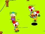 Jouer gratuitement à Guerre de Clowns