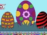 Jouer gratuitement à Colorier les œufs de Pacques