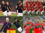 Jouer gratuitement à Espagne vs Portugal - Huitièmes de finale de la coupe du Monde 2010
