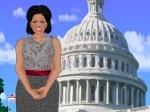 Jouer gratuitement à Habiller Michelle Obama