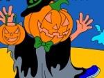 Jouer gratuitement à Colorier: Jack-O-Lantern Halloween