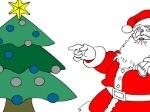 Jouer gratuitement à Colorier le Père Noël