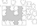 Jouer gratuitement à Puzzle Blanc