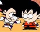 Jeu Vegeta vs Goku