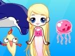 Jouer gratuitement à Barbie Sirène