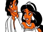 Jouer gratuitement à Colorier Aladdin