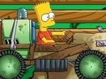Jouer gratuitement à Bart Kart