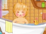 Jouer gratuitement à Le bain des bébés