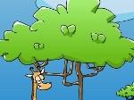 Jouer gratuitement à La girafe et les pommes