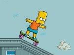 Jeu Bart en skate