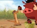Jeu Timon et Pumba dans la jungle