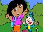 Jouer gratuitement à Colorier Dora