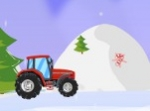 Jouer gratuitement à Christmas Tractor Race