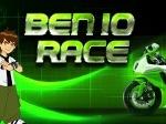 Jeu Ben 10: Courses de moto