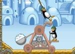 Jeu Catapulte de pingouins