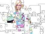 Jeu Puzzle de Barbie